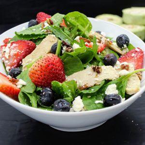 Strawberry Salad Square